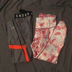 Set of 2 workout leggings